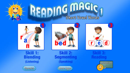 ABC Reading Magic Apps
