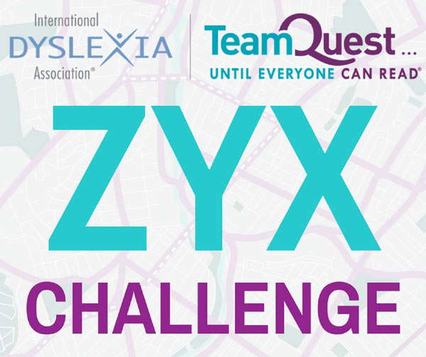 Take the ZYX Challenge