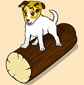 Dog on a Log2
