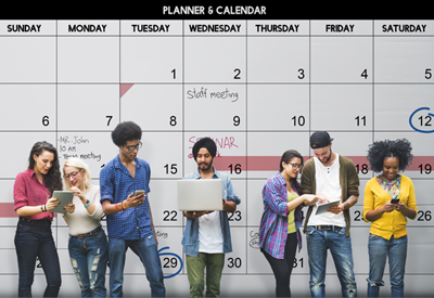 Stay Organized & Manage Your Time
