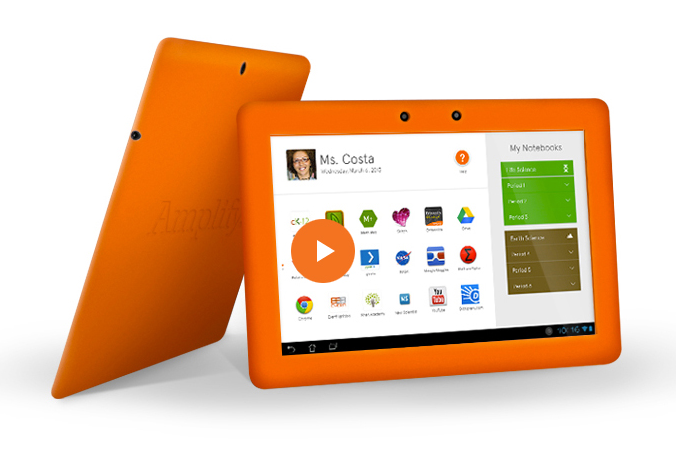 The Amplify Tablet: A Great Resource for Classrooms