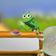 Frog's Rhyming Machine