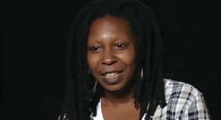 Whoopi Goldberg with the Academy of Achievement