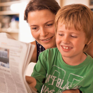 Foster Language, Reading, and Writing Improvement at Home