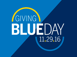 Giving Blueday