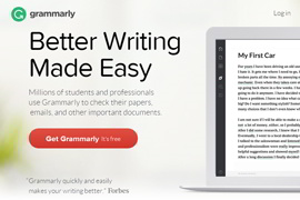 The Latest Online: Grammarly Grammar Checker